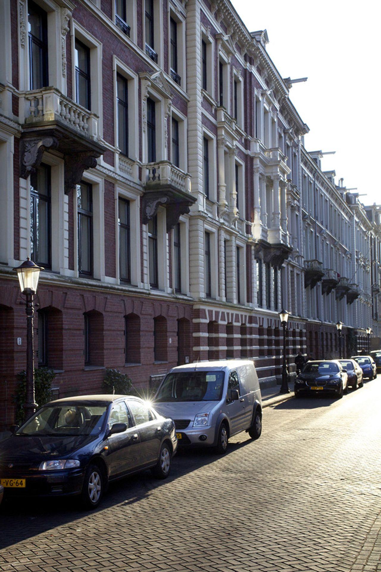 'Fuga monialium'(1967), Vossiusstraat 4-12 (foto)