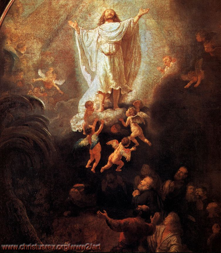 Rembrandt En De Engelen-07-De Oprichting Van Het Kruis