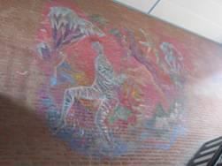 Aad de Haas Icarus muurschildering Sint Bernardinuscollege te Heerlen01