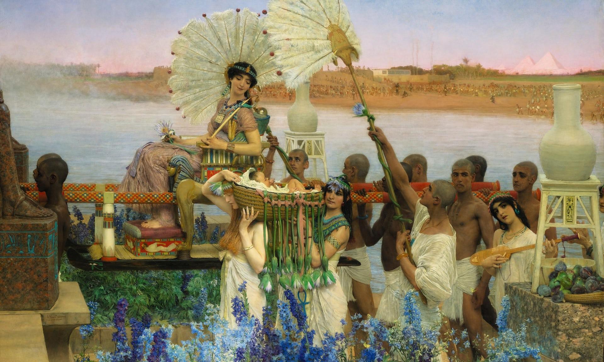 Alma-Tadema The Finding of Moses