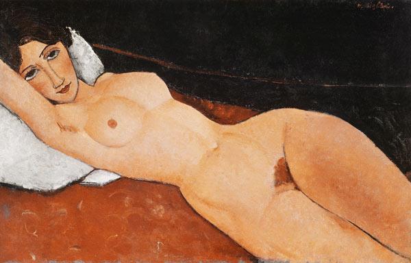 Amadeo Modigliani Liegender Frauenakt Nu Naakt