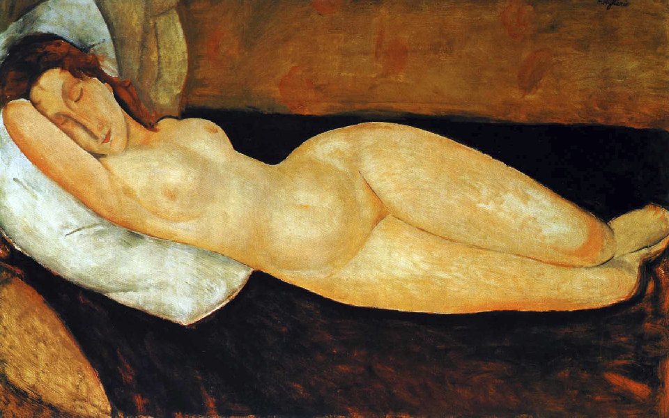 Amadeo Modigliani Nu