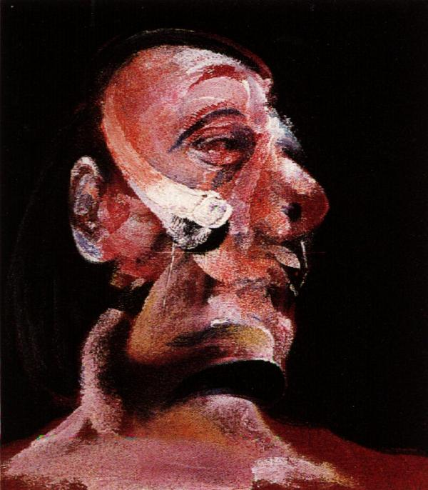 Francis Bacon Head Study