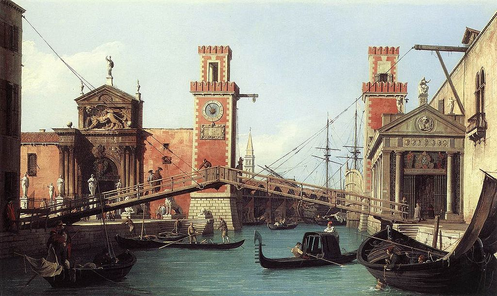 Canaletto-View_of_the_entrance_to_the_Arsenal_by_1732
