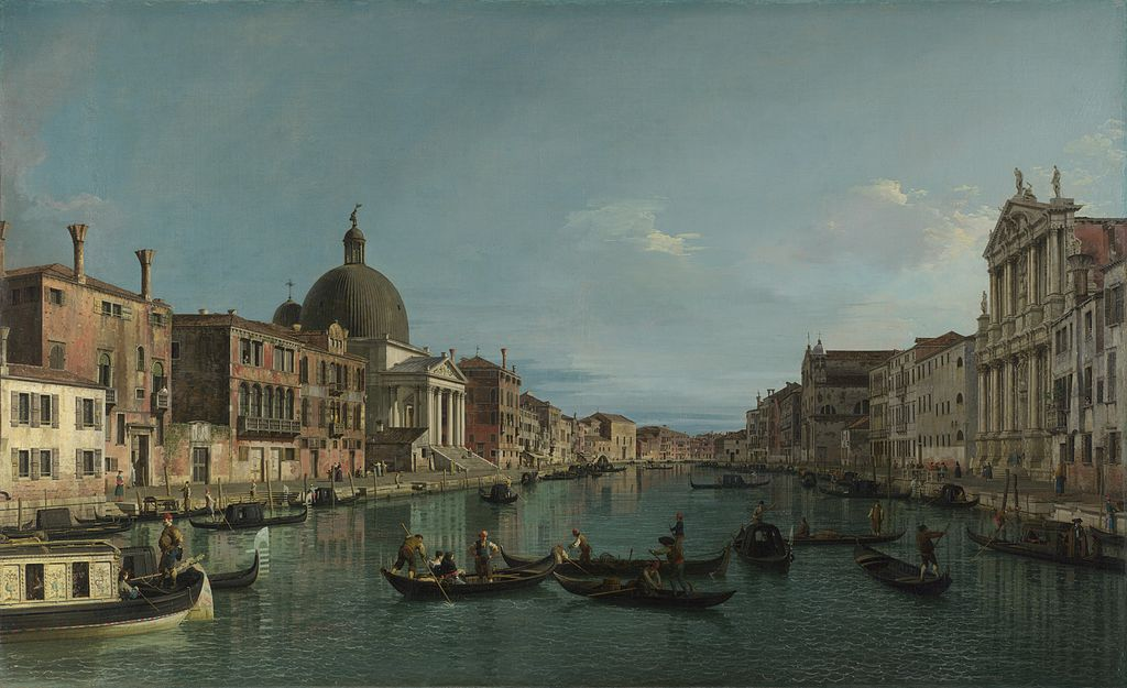 Canaletto_Venice-_The_Grand_Canal_with_S._Simeone_Piccolo