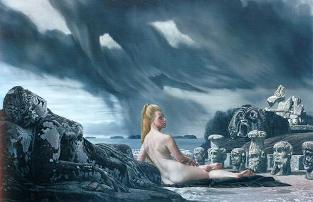 Carel Willink-1966-Mathilde-tussen-de-monsters