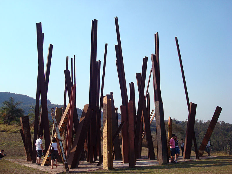 Chris Burden Beam Drop Inhotim Brumadinho Brazil