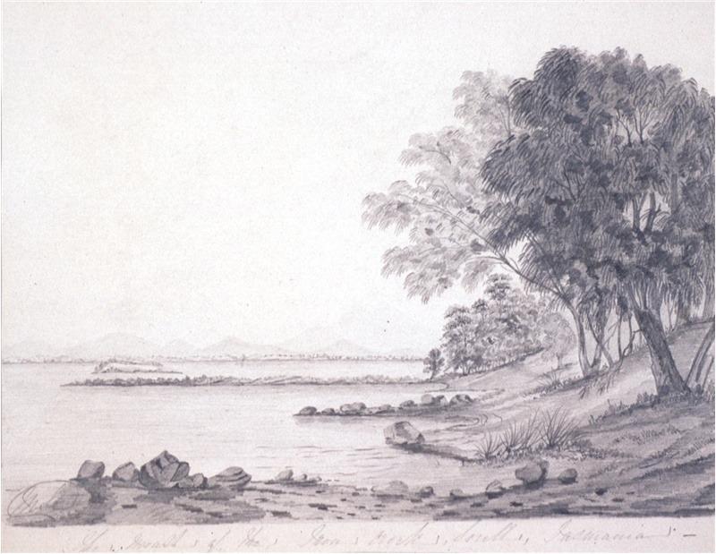 Cleburne Margaret Sarah ca 1829 1885 The mouth of the Iron Creek Sorell, Tasmania