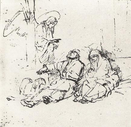 Rembrandt En De Engelen-06-De Onvervulbare Opdracht