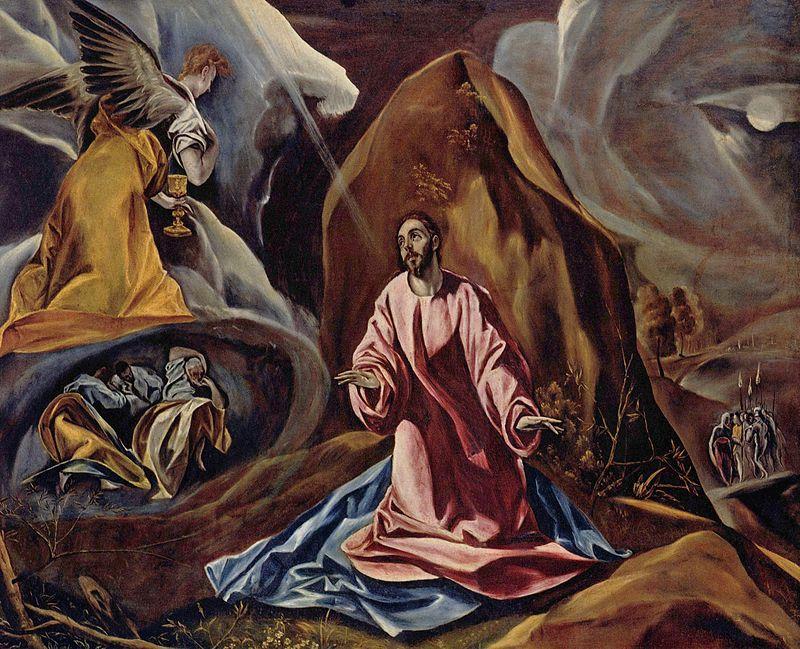 El Greco The Agony in the Garden of Gethsemane