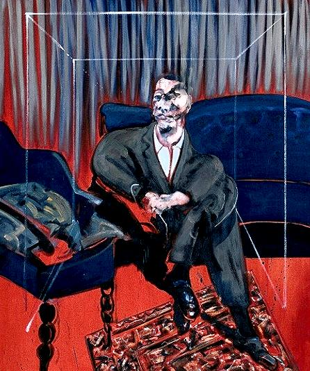 Francis Bacon Seated figure 1961