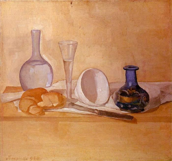 Giorgio Morandi Still Life The Blue Vase