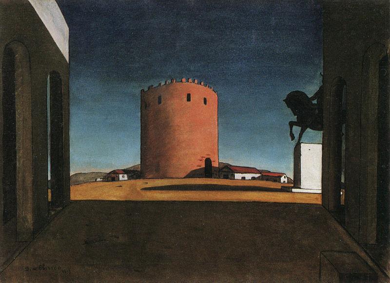 Giorgio de Chirico The Red Tower