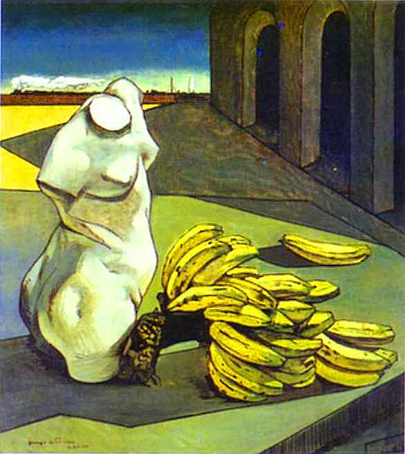 Giorgio de Chirico The uncertainty of the poet