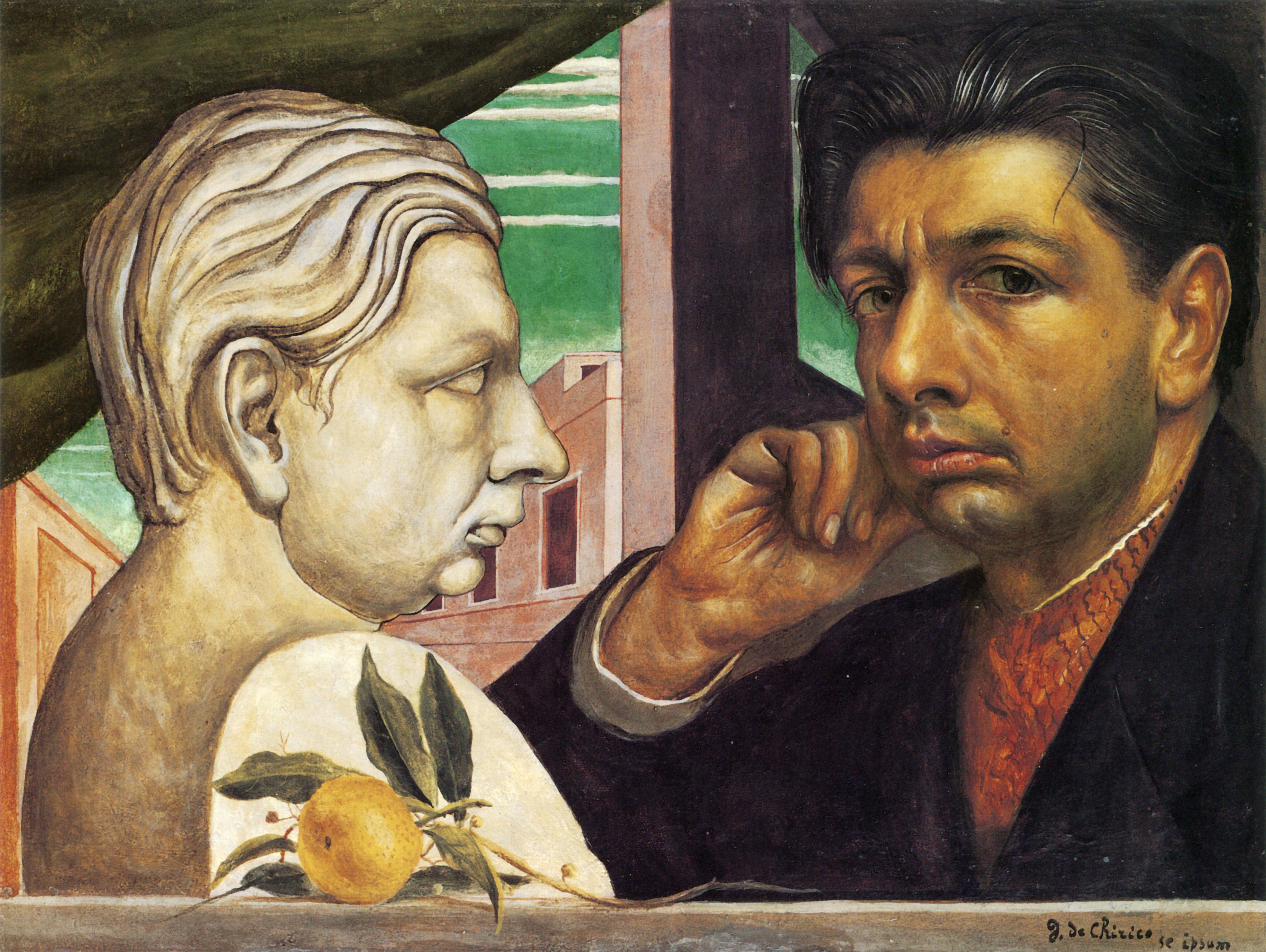 Giorgio de Chirico Zelfportret