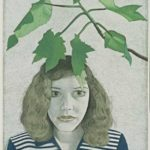 Lucien Freud Girl with Leaves