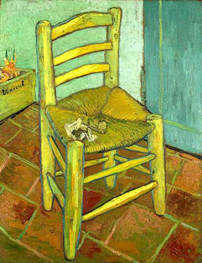 Vincent van Gogh Stoel Met Pijp - Stoel van Gauguin