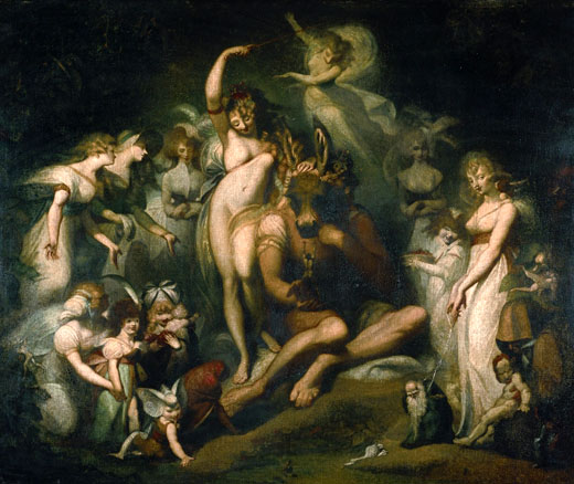 Henry Fuseli Titania and Bottom