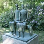 Henry Moore King and Queen 1952-3 Middelheim