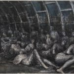 Henry Moore Shelterers in the Tube 1941