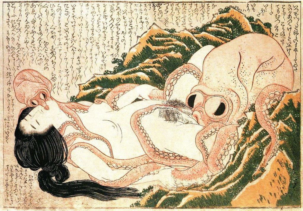 Hokusai_Dream of the Fishermans Wife