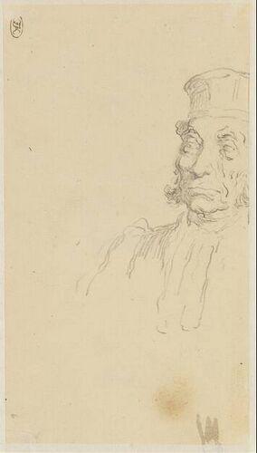 Honore Daumier Een advocaat