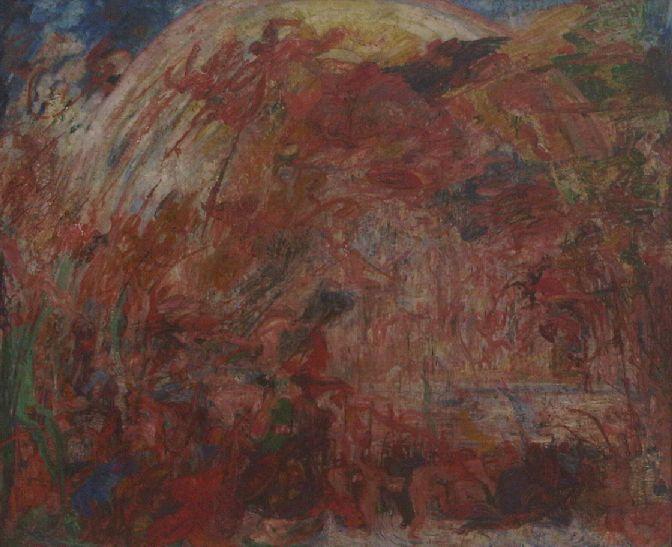 James Ensor De val der opstandige engelen