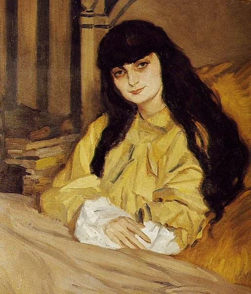Jean de Gaigneron, Portrait of Anna de Noailles, 1910, oil on canvas, Musee de la Ville de Paris, Musee Carnavalet, Paris