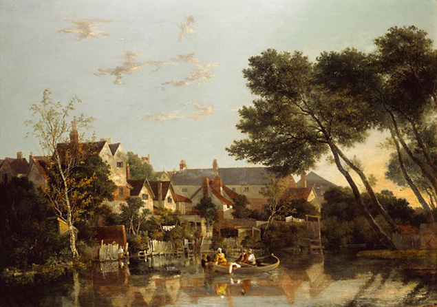 John Crome Norwich River Afternoon
