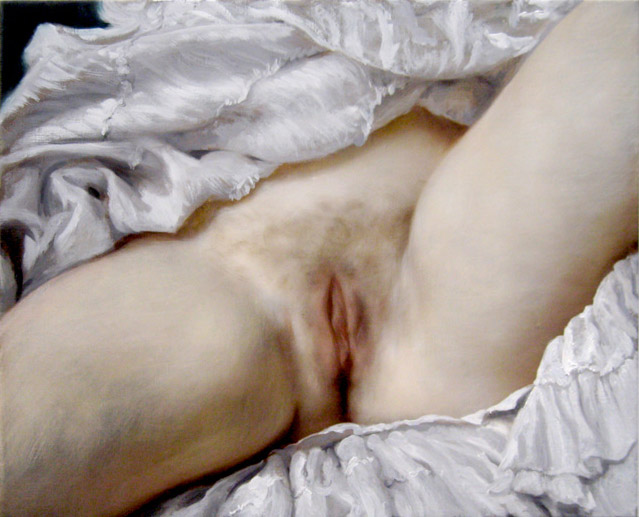 John Currin After Courbet 2008