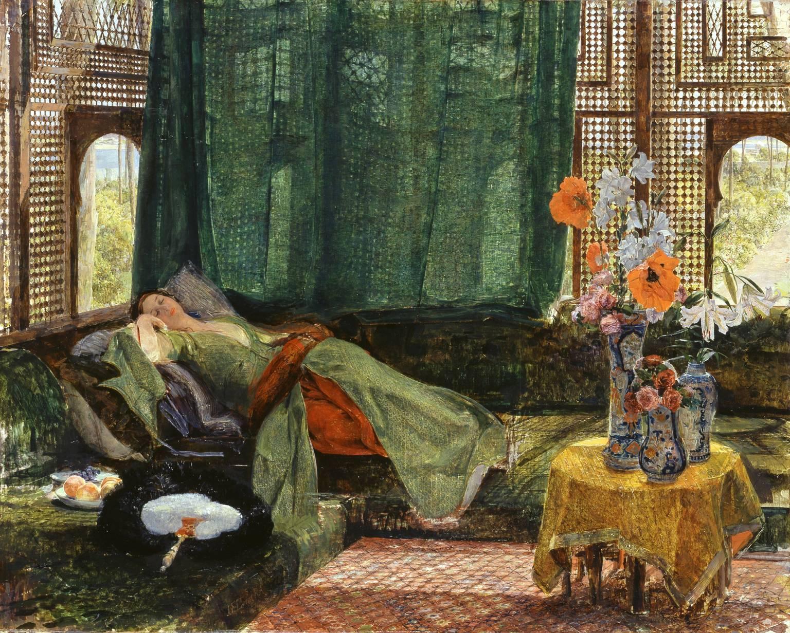 John Frederick Lewis The siesta