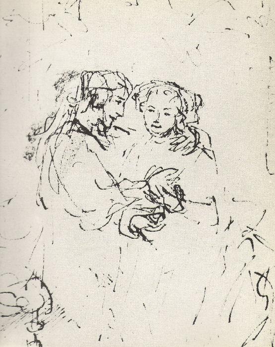 Rembrandt En De Engelen-10-Het Joodse Bruidje