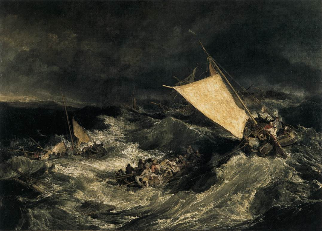Joseph Mallord William Turner The Shipwreck