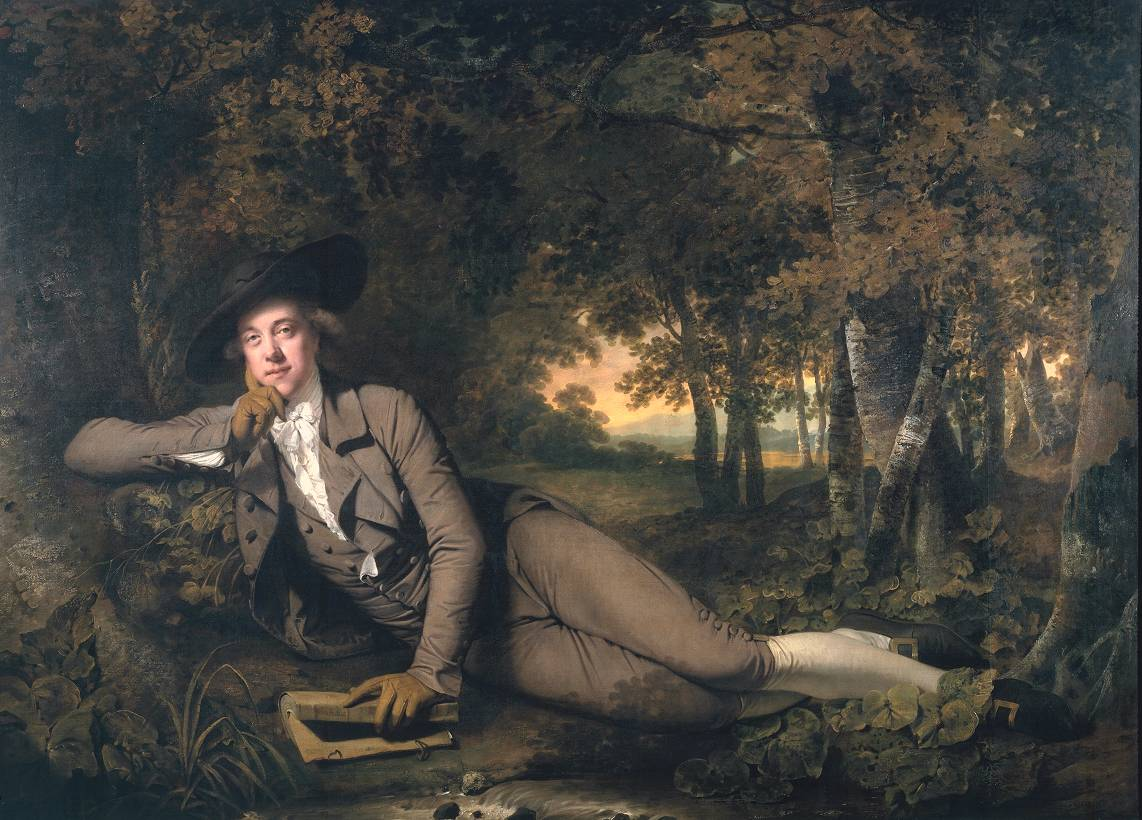 Joseph Wright of Derby Sir Brooke Boothby 1781