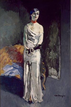 Kees Van Dongen, Portrait of Anna de Noailles, 1931. Stedelijk Museum, Amsterdam