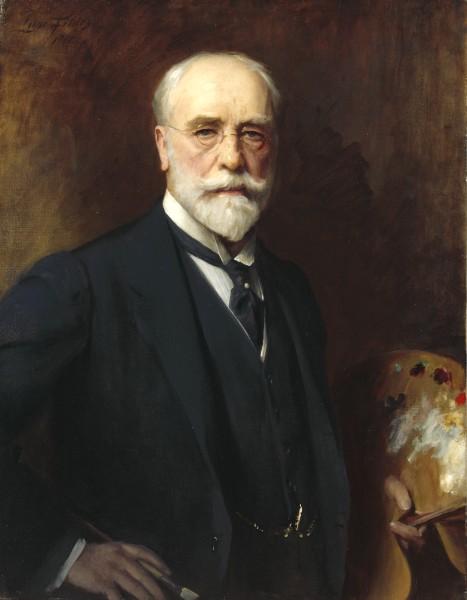 Luke Fildes Zelfportret