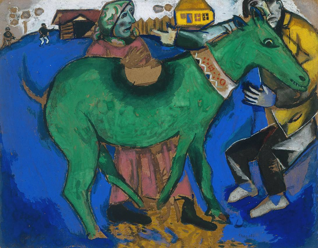 Marc Chagall The green mare