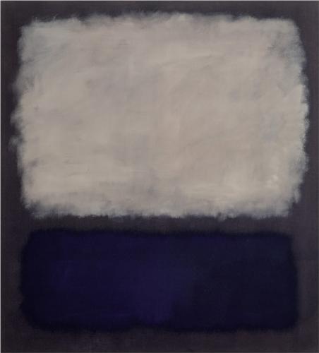 Mark Rothko Blue and grey