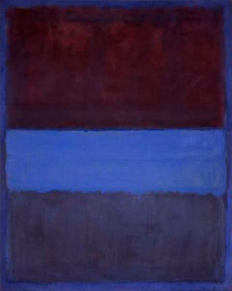 Mark Rothko No 61 Rust and Blue