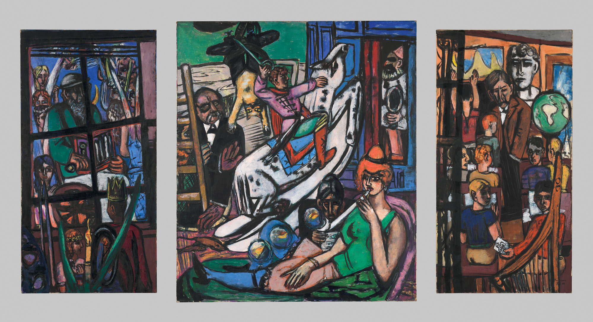 Max Beckmann The beginning