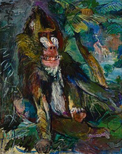 Oskar Kokoschka De Mandril 1926