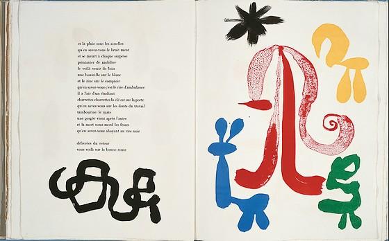 Parler seul Joan Miro Tristan Tzara 1948 50