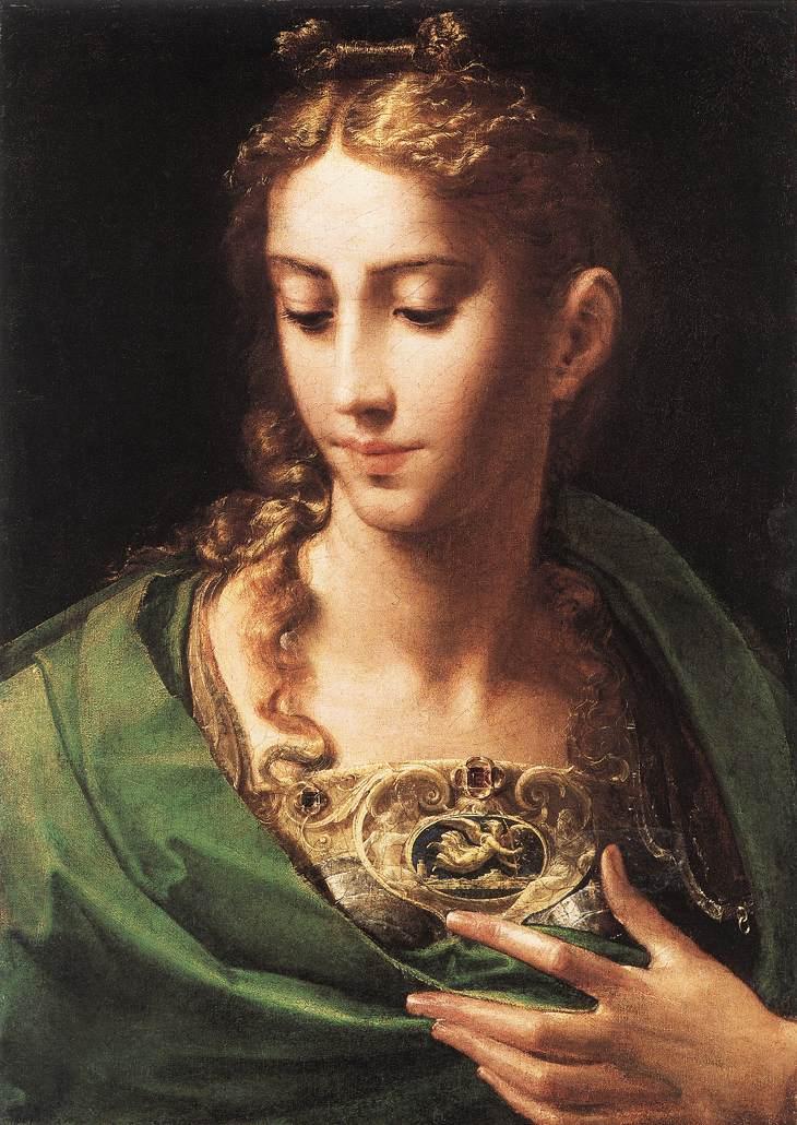 Parmigianino Pallas Athene