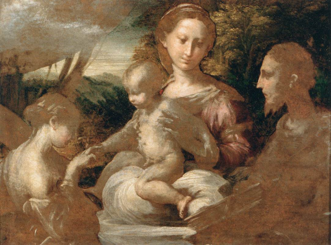 Parmigianino The Mystic Marriage of St Catherine