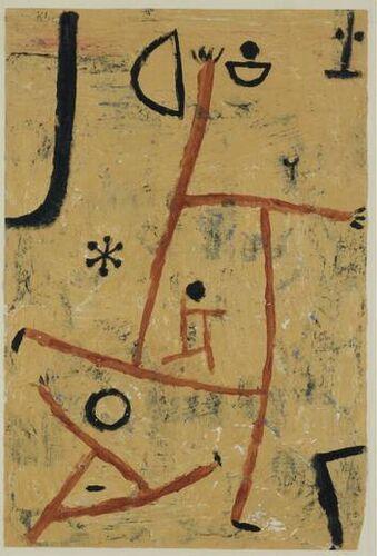 Paul Klee Met zonder hoofden