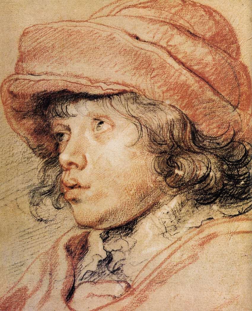 Peter Paul Rubens Nicolaas Rubens tekening