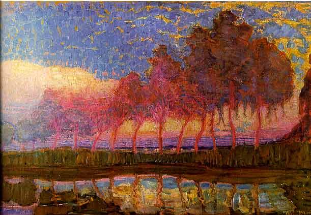 Piet Mondriaan_bomen_aan_het_gein_1907-08
