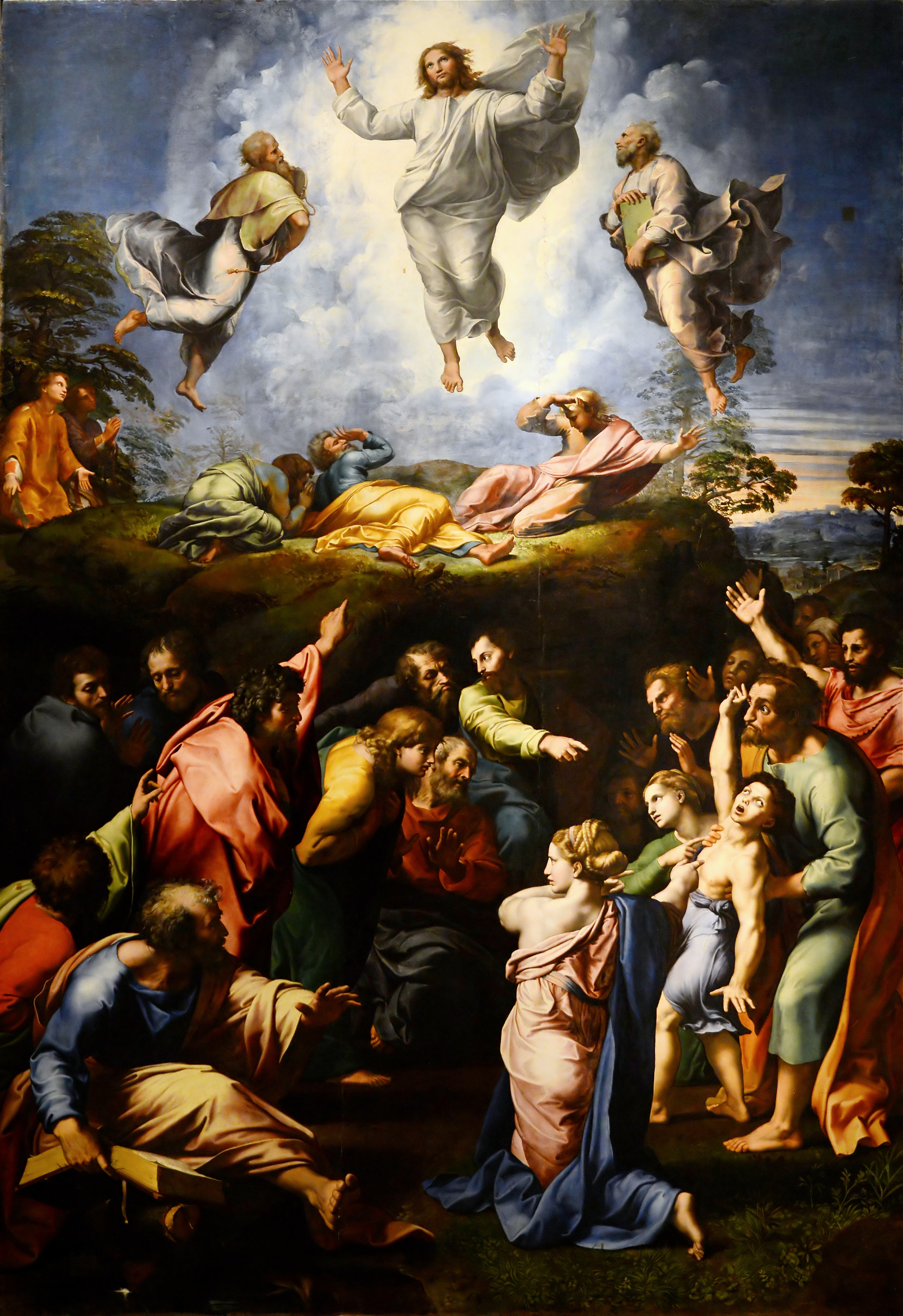 Raphael Ascension or Transfigurazione