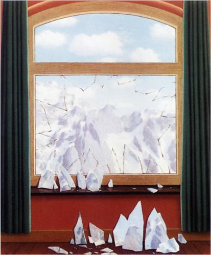 Rene Magritte Arnheims-domein 1949
