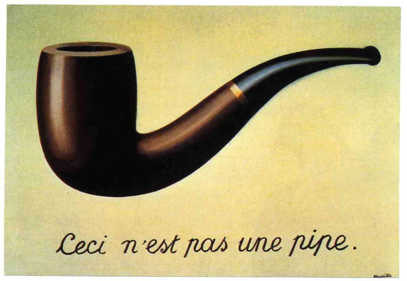 Rene Magritte La_trahison_des_images Het verraad van de beelden